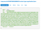 An example of output and documentation from the Ensembl REST Service